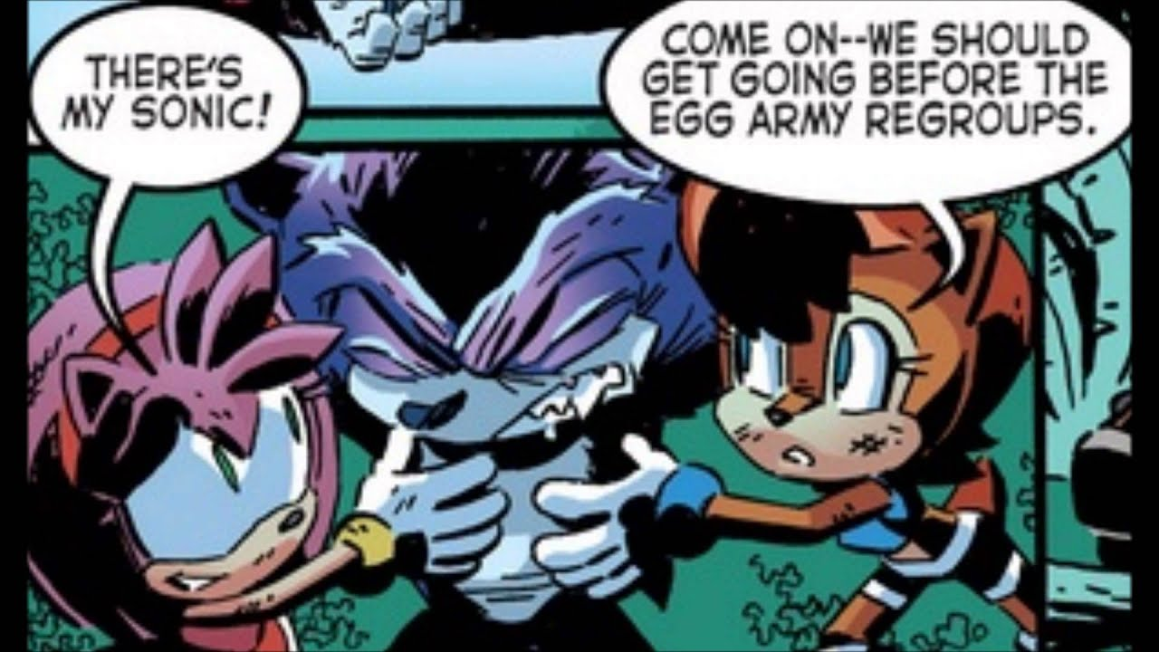 Sonic the Hedgehog Comic Issue #265