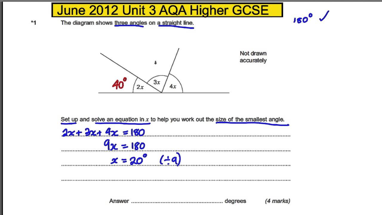 aqa gcse mathematics linear past papers Gcse maths has, in the past, been considered the easiest way to get the qualification, but now gcse and igcse are of similar difficulty in igcse maths, a calculator is allowed in both papers, but there are some topics which are not in gcse maths.