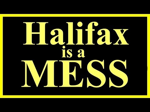 Halifax is a MESS Chebucto and Connaught Sts