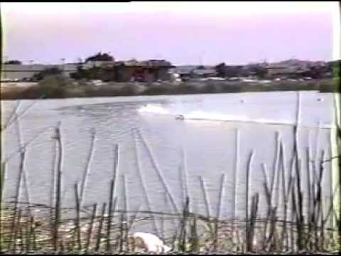 Miss Renault 1/8 Scale Unlimited Hydroplane wins 1992 APBA RCMRC Nationals at Monterey California