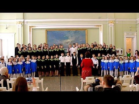 Юбилейный концерт ДШИ №9 в музее им. Врубеля. Хоровое отделение