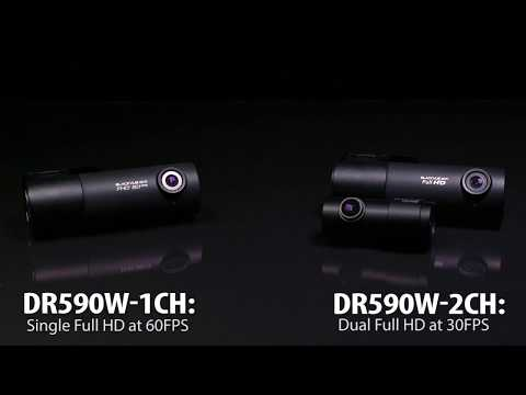 BlackVue DR590W Series Simple WiFi Dashcam