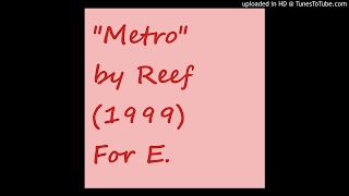 Watch Reef Metro video