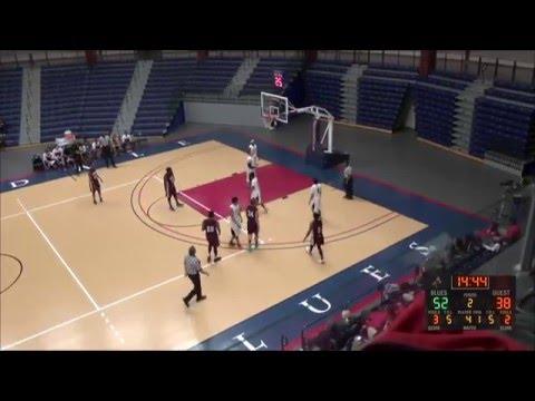 Brookdale Men's Basketball December 3, 2015 vs. County College of Morris