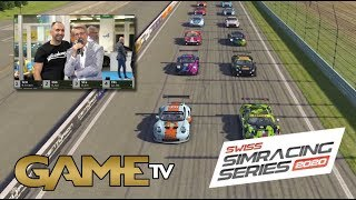 Game TV Schweiz - SWISS SIMRACING SERIES 31.10.2019