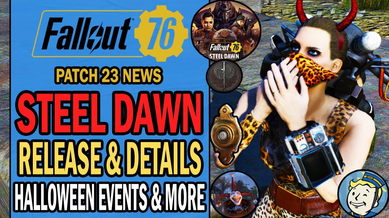 Fallout 4 Halloween Event 2020 Steel Dawn Release & BOS Quest Details, Halloween Event 2020