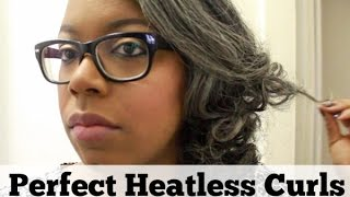How To Get Perfect Heatless Curls (Using Flex Rods) Thumbnail