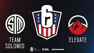 TSM vs. Elevate | Rainbow Six: US Nationals - 2019 | Stage 2 | Week 2 | Western Conference