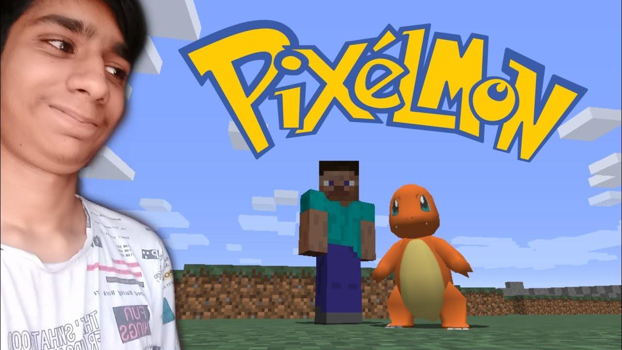 MY CHARMANDER IS COOL!! | Pixelmon Gameplay (Hindi)