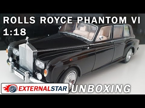1:18 Rolls Royce Phantom VI by Kyosho | Unboxing and Review