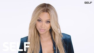Tyra Banks Critiques Real People's Walks | SELF