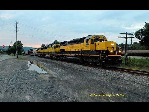 HD Our New York Trip Part 2,More Alcos,Southern Tier action,CSX NYSW and More! 8 17&18 16
