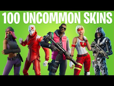 FORTNITE ALL UNCOMMON SKINS (All 11 Season Skins)