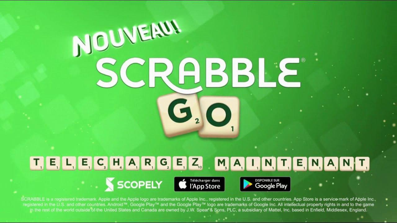 """Musique de la pub Nouveau Scrabble Go """"à vous de jouer""""  2021"""