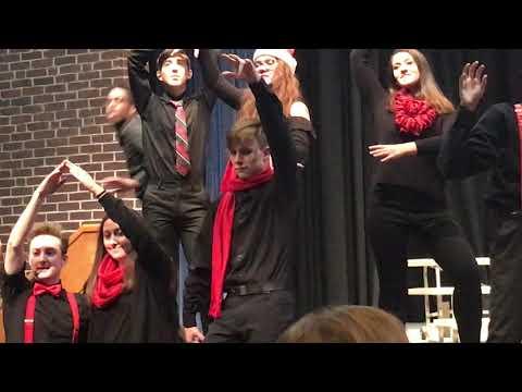 Braintree High School Show Choir Sondheim medley!