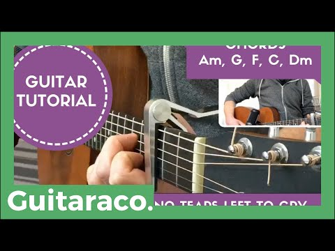 No Tears Left to Cry - Ariana Grande // EASY Guitar Tutorial (Open Chords)
