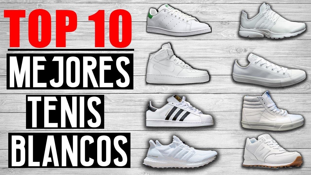 venta caliente nuevas variedades apariencia estética TOP 10 MEJORES TENIS BLANCOS DEL MUNDO 2017   JR Style For Men