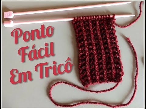 Ponto Fácil em Tricô 04 ... ( Falso Inglês)