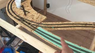 Folge 1 -Teil 2 Meine Modellbahn Spur N im Bau. Beschreibung und Erklärungen