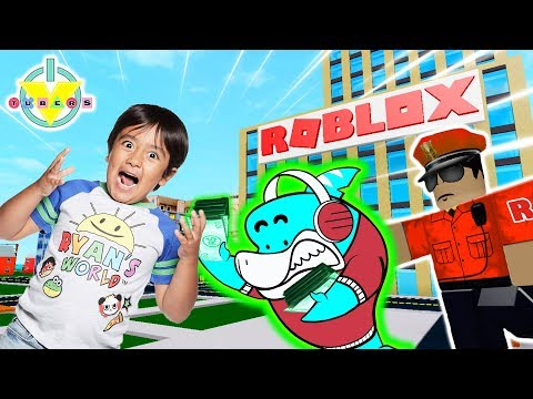 RYAN ESCAPES ROBLOX HQ ! Let's Play Roblox with Big Gil