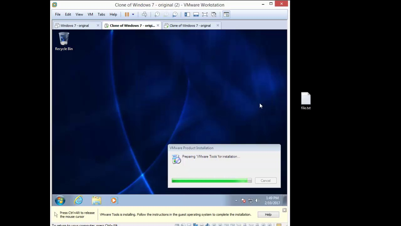 Fixing Drag and Drop with Vmware Workstation 12