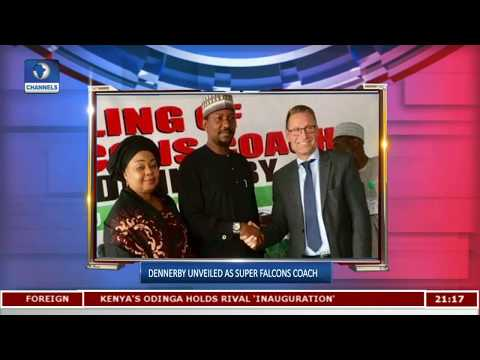 NFF Unveil Thomas Dennerby As Super Falcons'  Coach |Sports Tonight|