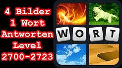 4 Bilder 1 Wort - Level 2700-2723 - Löse 5 Rätsel aus dem Bereich Musik - Lösungen Antworten