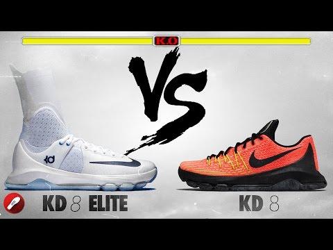 Nike Kd 8 Elite vs Nike Kd 8!