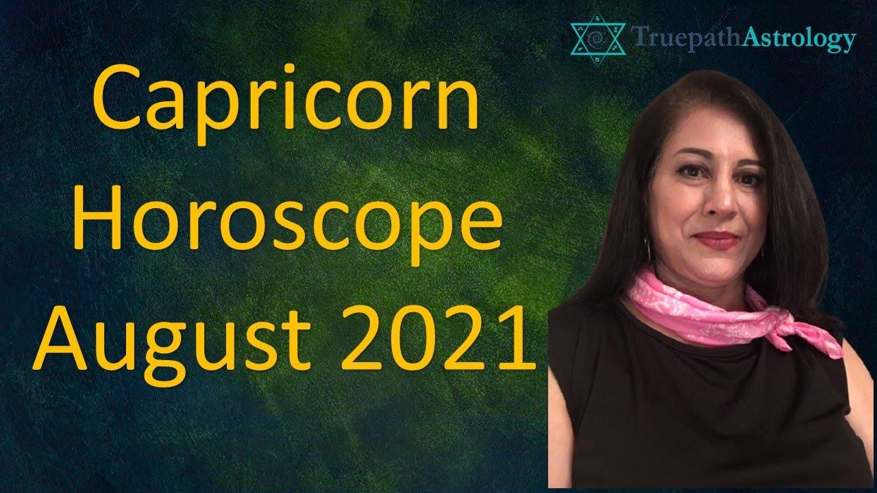 Capricorn Horoscope   August 20   Monthly Predictions   Vedic ...