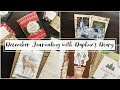 December Journaling with Daphne's Diary Magazine | December Junk Journal with me