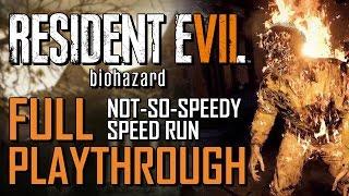 Resident Evil 7: Biohazard | Full Speedrun Playthrough (03:37:27)