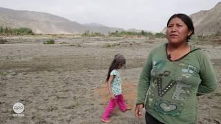 Noemí y la situación del agro en Huarmey