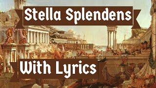 Latin Song: Stella Splendens (With Lyrics)