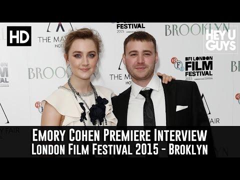 Emory Cohen Interview - Brooklyn Premiere