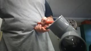 Comment décoller un tube PVC