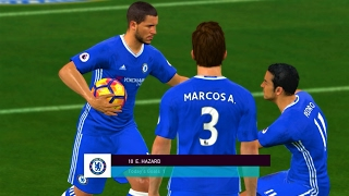 Chelsea vs Arsenal / Full Match Highlights 2017 / Gameplay PES PC