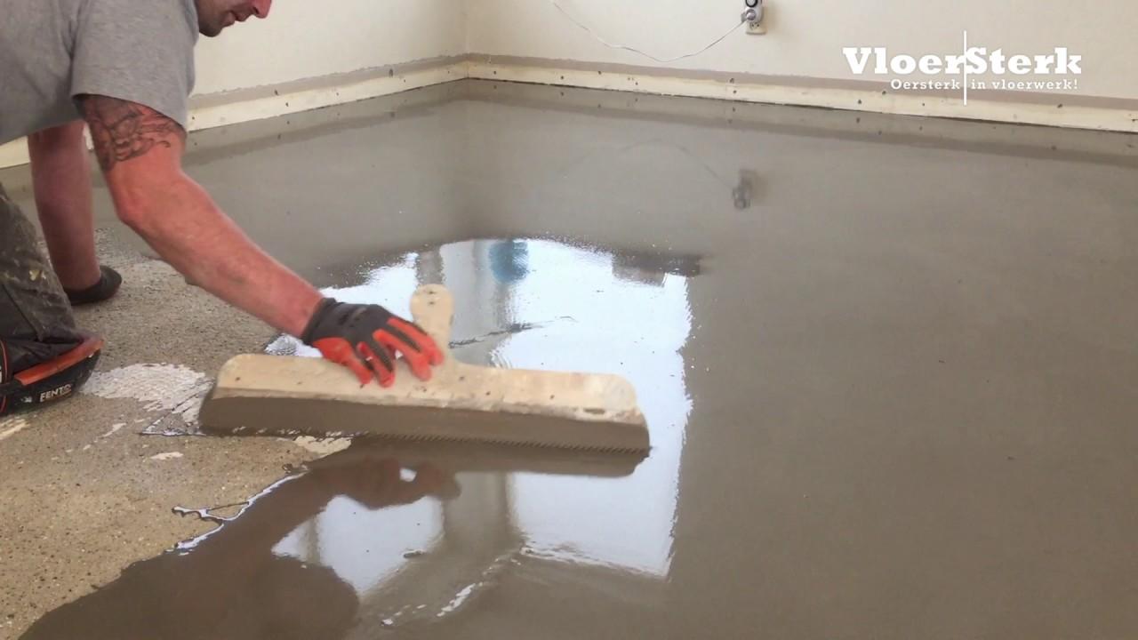 Egaliseren Over Tegels : Vloersterk egaliseren vloer woning na verwijderen oude