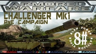Armored Warfare,Challenger Mk1.PvE Mission,Gameplay.