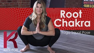 How to properly execute a YOGA SQUAT for your Root Chakra