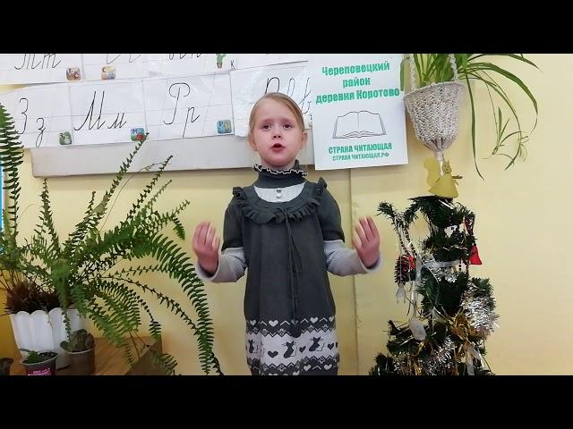Изображение предпросмотра прочтения – АнгелинаШвецова читает произведение «Доброта» К.К.Большаковой