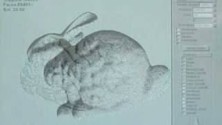 Examples of real-time stippling