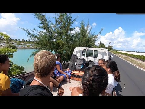 Island Life in Kiribati! Surf, Foil and Maitinnara Family Reunion VLOG#7