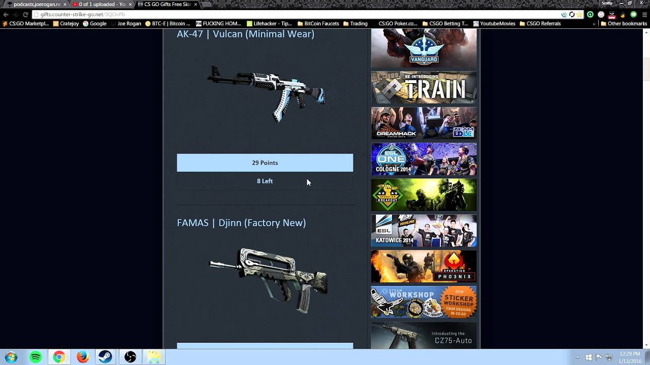 Cs go free skins 2014 cs go how to sell weapons