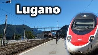 Lugano - Zugverkehr im SBB- & FLP-Bahnhof - mit SBB Flirt, ETR 610, SBB IC, ICN uvm.