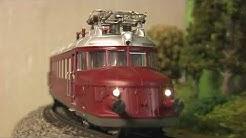 "Modellbahn-Neuheiten (763) Trix Serie RCe 2/4 ""Roter Pfeil"""
