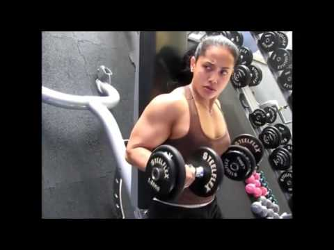 Best Indonesian Female Bodybuilder Gym Workouts