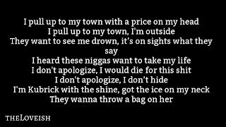 NAV ft. The Weeknd – Price On My Head  Lyrics