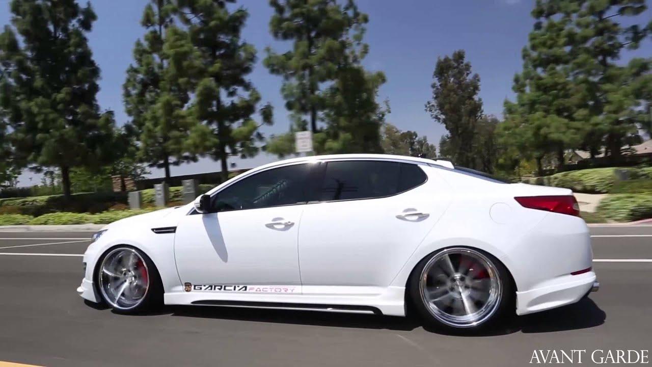 "2015 Kia Optima Rims >> AG Wheels: 2013 Kia Optima on 20"" Avant Garde F431 - YouTube"