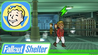 Fallout Shelter - Getting Dwellers, Exploring Wasteland & Ranking Up Vault!