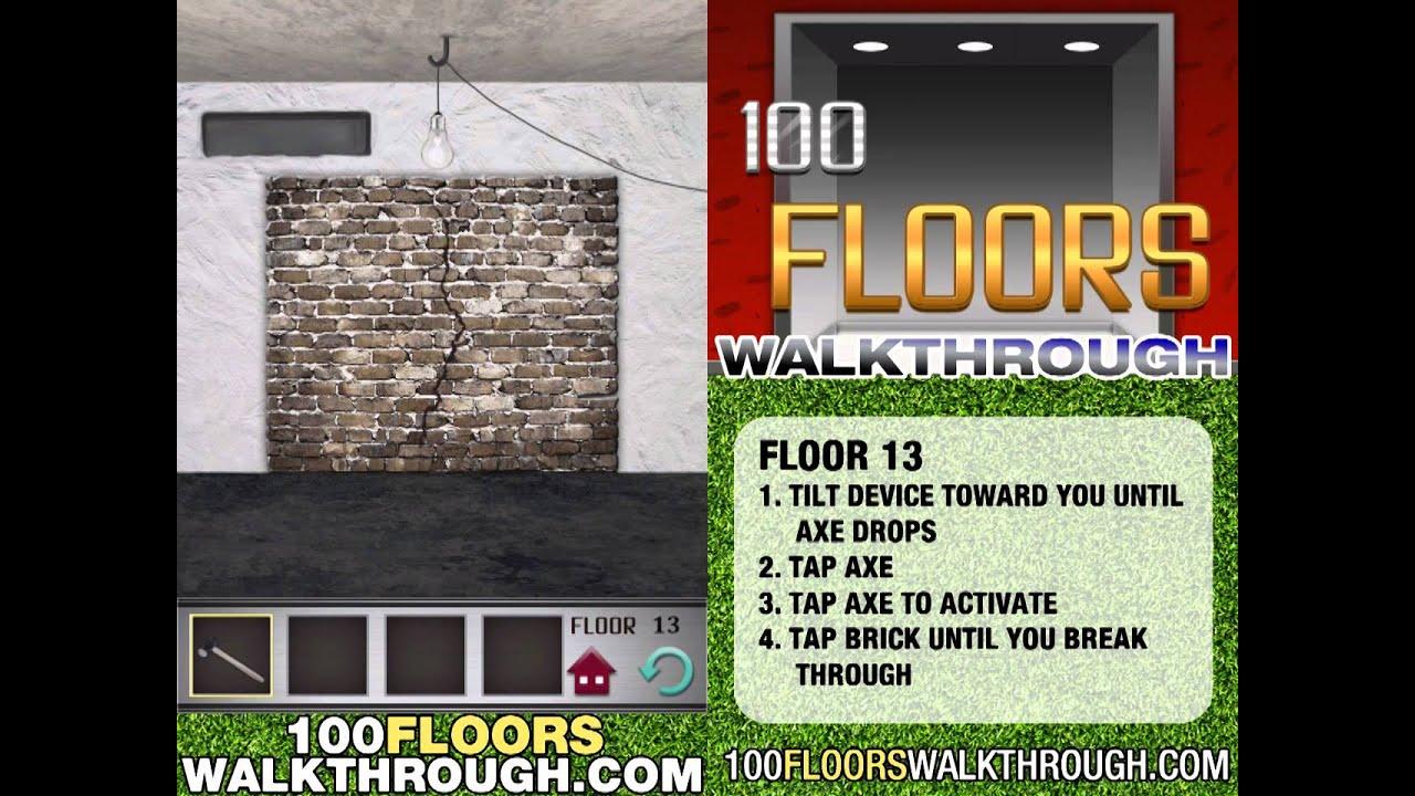 Floor 13 Walkthrough 100 Floors Walkthrough Floor 13